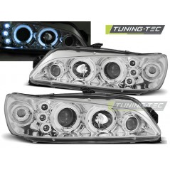 LPPE16 PEUGEOT 306 05.97-03.01 ANGEL EYES CHROME