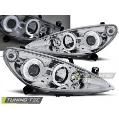LPPE09 PEUGEOT 307 04.01-06.05 ANGEL EYES CHROME