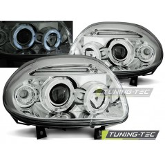 LPRE21 RENAULT CLIO II 09.98-05.01 ANGEL EYES CHROME