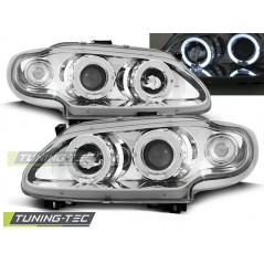 LPRE05 RENAULT MEGANE / SCENIC 96-99 ANGEL EYES CHROME