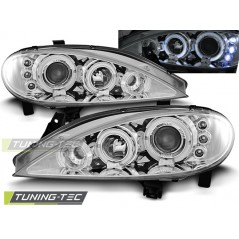 LPRE09 RENAULT MEGANE 03.99-10.02 ANGEL EYES CHROME