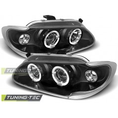 LPRE06 RENAULT MEGANE / SCENIC 96-99 ANGEL EYES BLACK