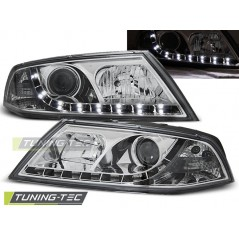 LPSK09 SKODA OCTAVIA 2 03.04-08 D1S DAYLIGHT CHROME