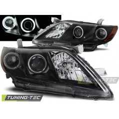 LPTO10 TOYOTA CAMRY 6 XV40 06-09 ANGEL EYES BLACK