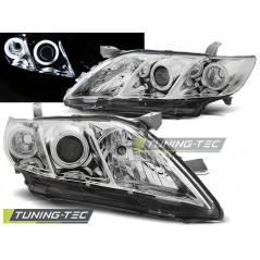 LPTO09 TOYOTA CAMRY 6 XV40 06-09 ANGEL EYES CHROME