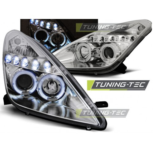 LPTO13 TOYOTA CELICA T230 99-05 ANGEL EYES CHROME