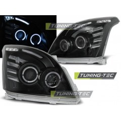 LPTO06 TOYOTA LAND CRUISER 120 03-09 ANGEL EYES BLACK