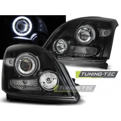 LPTO18 TOYOTA LAND CRUISER 120 03-09 ANGEL EYES BLACK CCFL