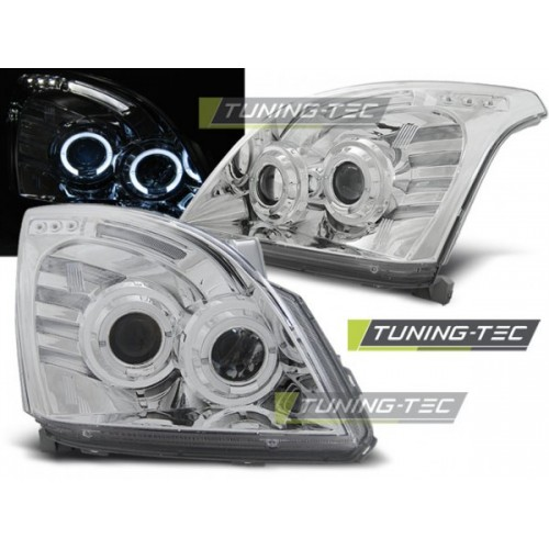 LPTO05 TOYOTA LAND CRUISER 120 03-09 ANGEL EYES CHROME