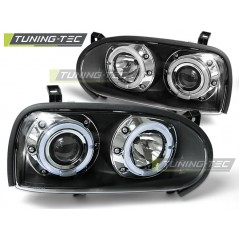 LPVW10 VW GOLF 3 09.91-08.97 ANGEL EYES BLACK