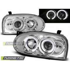 LPVW02 VW GOLF 3 09.91-08.97 ANGEL EYES CHROME