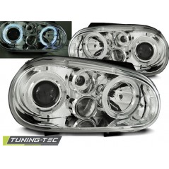 LPVW65 VW GOLF 4 09.97-09.03 ANGEL EYES CHROME