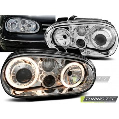 LPVW42 VW GOLF 4 09.97-09.03 ANGEL EYES CHROME
