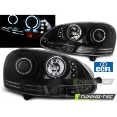 LPVWJ1 VW GOLF 5 10.03-09 ANGEL EYES CCFL BLACK