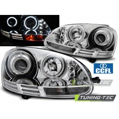 LPVWJ0 VW GOLF 5 10.03-09 ANGEL EYES CCFL CHROME