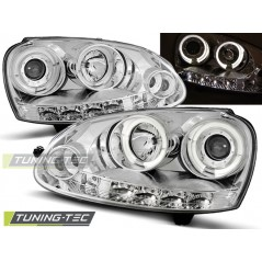 LPVWB7 VW GOLF 5 10.03-09 ANGEL EYES CHROME