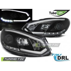 LPVWI5 VW GOLF 6 10.08-12 BLACK TUBE LIGHTS TRU DRL