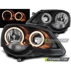 LPVWE3 VW POLO 9N3 04.05-09 ANGEL EYES BLACK