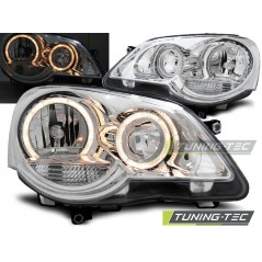 LPVWE2 VW POLO 9N3 04.05-09 ANGEL EYES CHROME