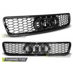 GRAU27 GRILL AUDI A4 (B5) RS-TYPE 11.94-09.00 BLACK