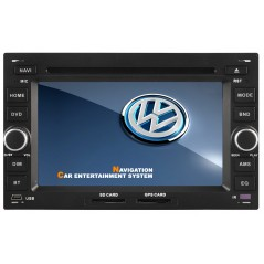 VW Multimedia DVD GPS - Golf MK4, Polo MK4, Passat B5, Transporter T4 T5 - K016 - Wince