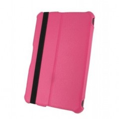 "7"" Universal Tablet Leather Stand Case - Pink"