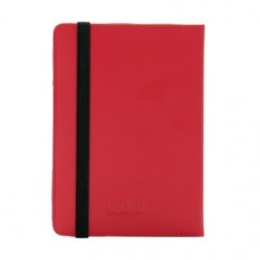 "7"" Universal Tablet Leather Stand Case - Red"
