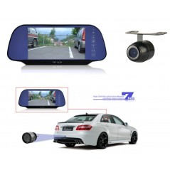 Segic 078 Car Rear View Mirror with reversing camera- High Definition