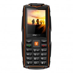 VKWorld New Stone V3 GSM Phone  2.4 Inch 240x320 Screen, 3x SIM, IP68 Waterproof Rating, FM Radio, Flashlight