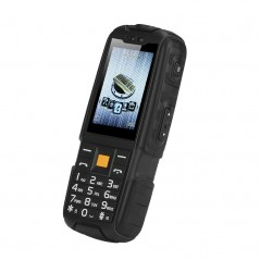 NO.1 A9 GSM Phone - 4800mAh Battery, 2.4 Inch 240x320 Screen, FM Radio, Flashlight, Dual SIM, IP67 Waterproof Rating