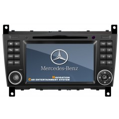 Mercedes Multimedia DVD GPS - C-Class W203, CLC W203, G-Class W467 - A093- Android