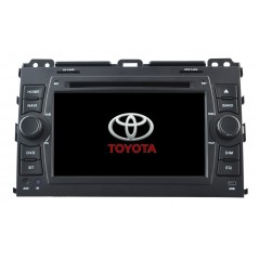 Multimedia DVD GPS - Landcruiser 120 Prado - A8129T - Android