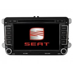 Seat Multimedia DVD GPS - Leon MK1, Leon MK2 - A004 - Android
