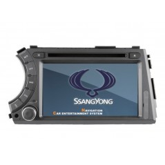 SsangYong Multimedia DVD GPS - Actyon, Kyron - A158 - Android