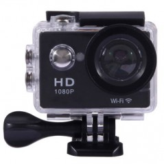 Action Camera Sports Cam Full HD 1080P H.264 1.5 inch LCD WiFi Edition Sports Camera with 170-degree Wide-angle Lens