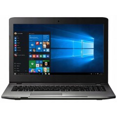 15.6Inch Laptop - PEAQ C1015 - Silver - Intel Pentium 3805U - 4 GB - SSD 128 GB - Windows 10 Home