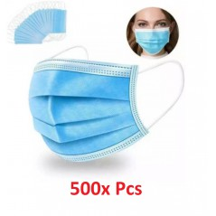 500x Disposable Surgical Face Mask MMM007