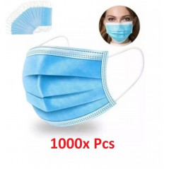 1000x Disposable Surgical Face Mask MMM007