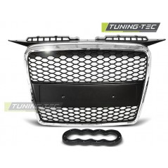 GRAU25 GRILL AUDI A3 RS-TYPE 06.05-03.08 CHROME