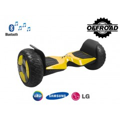 10.5inch Hoverboard Goclever Off-road Bluetooth Yellow