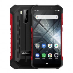Ulefone Armor X3 Waterproof Unlocked Cell Phone, 3G Dual SIM Android 9.0 2GB+32GB 5.5 Inches IPS Dsiplay 5000mAh Battery