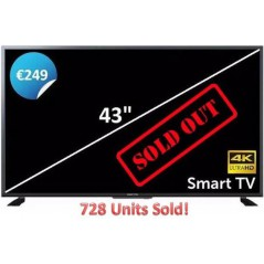 Manta 40 Inch HD Ready Smart TV With Freeview TV