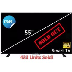 Manta 55 Inch 4K Smart Ultra HD TV