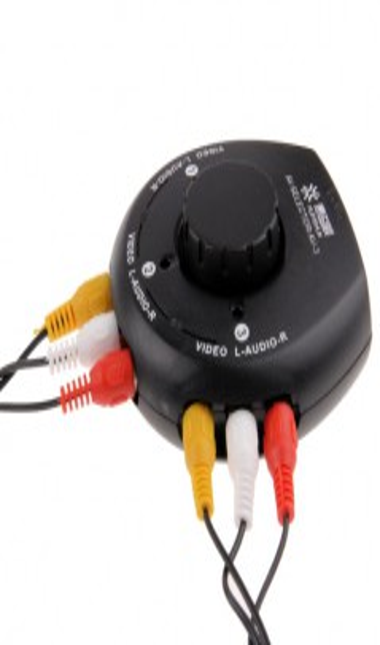3 to 1 TV Multi Box Extender Splitter Switch for LD / VCD / DVD / Camera / Recorder
